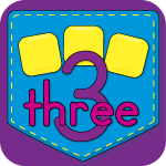 Numbers and Number Words Matching Game App Icon