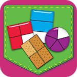 Fractions Match Game App Icon