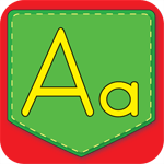 Uppercase and Lowercase Letter Matching Pocket Chart App Icon