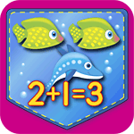 Single-Digit Addition/Subtraction Match Game App Icon