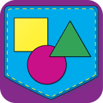 Shape Matching Pocket Chart App Icon